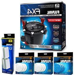 Fluval FX4 Filter w/ Water Pad, Filter Pad & Filter Foam