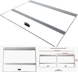 Glass Canopy 2Piece Set For Marineland Perfecto 70/75/90/110