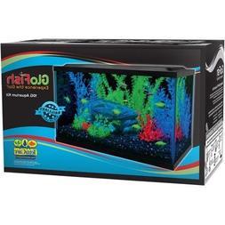 "Glofish 10 Gallon Aquarium Kit 20"" x 10"" LED Hood and Whispe"
