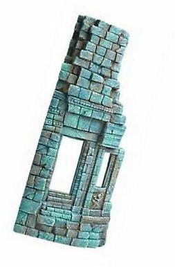 "Hydor H2Show Atlantis - Right Temple Decoration, 13.8"" x 6"""