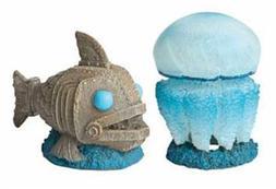 Hydor H2Show Atlantis - Jellyfish and Fish Decoration Combo