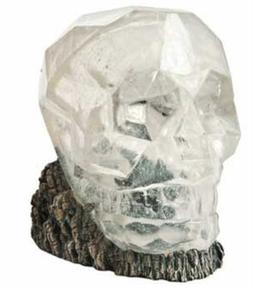 Hydor H2Show Lost Civilization - Crystal Skull Decoration 5""