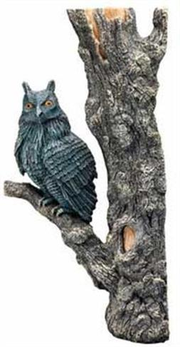 "Hydor H2Show Magic World - Left Owl Decoration, 13"" x 7"" x 3"