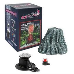 Hydor H2Show Wonders Ornament Kit - Volcano, Red LED