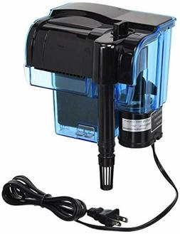 Hang-on Aquarium Filter with Quad Filtration System Cleans U