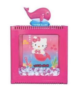 Hello Kitty 1/2 Gallon Mermaid Betta Fish Tank With Decirati