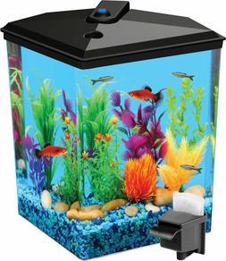 hot products tropical aquaview corner aquarium starter