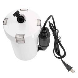 HW-602B 110V 6W 400L/hr Ultra Mute Aquarium Fish Tank Filter