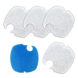 Sunsun HW-304B White Blue Pad HW-304 Canister White and Coar