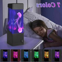 Jellyfish Aquarium LED Multicolor Lighting Fish Tank Mood La