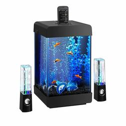 Aqueon Jukebox 5 LED Fish Tank Aquarium Kit