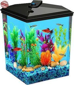 Koller Products AquaView 2.5 gallon Fish Tank - Power Filter