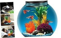 Koller Products AquaView 3-Gallon Fish Tank with Power Filte