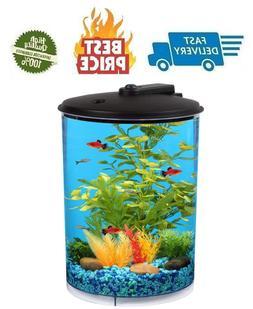 koller products aquaview 360 3 gallon aquarium