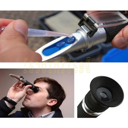 0-10% Salt Water Refractometer Fish Aquarium Salinity