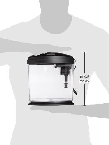 Aqueon 015905178020 Minibow Kit, 1 Gallon, Black
