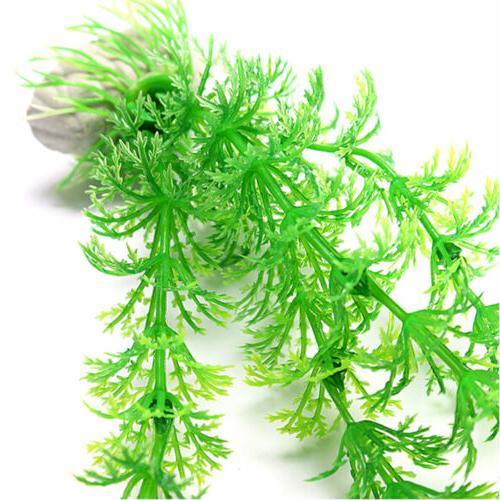 Green Water Ornament Plant Plastic Decor