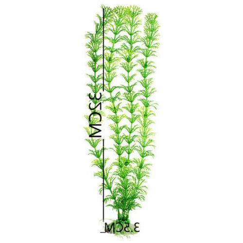 1/2/5PC Aquarium Green Plants Ornament