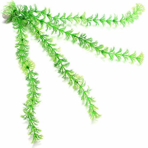1/2/5PC Fish Green Plants Ornament