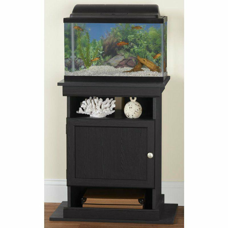 10-20 Elegant Fish Tank Black