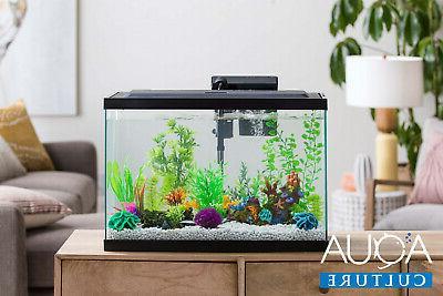 10 gallon fish tank aquarium clear glass