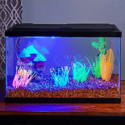 10 Gallon Aquarium Clear Glass Terrarium Pet Fishes Home