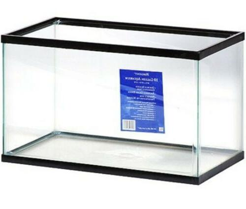 10 Fish Tank Aquarium Clear Glass Terrarium Pet Reptiles