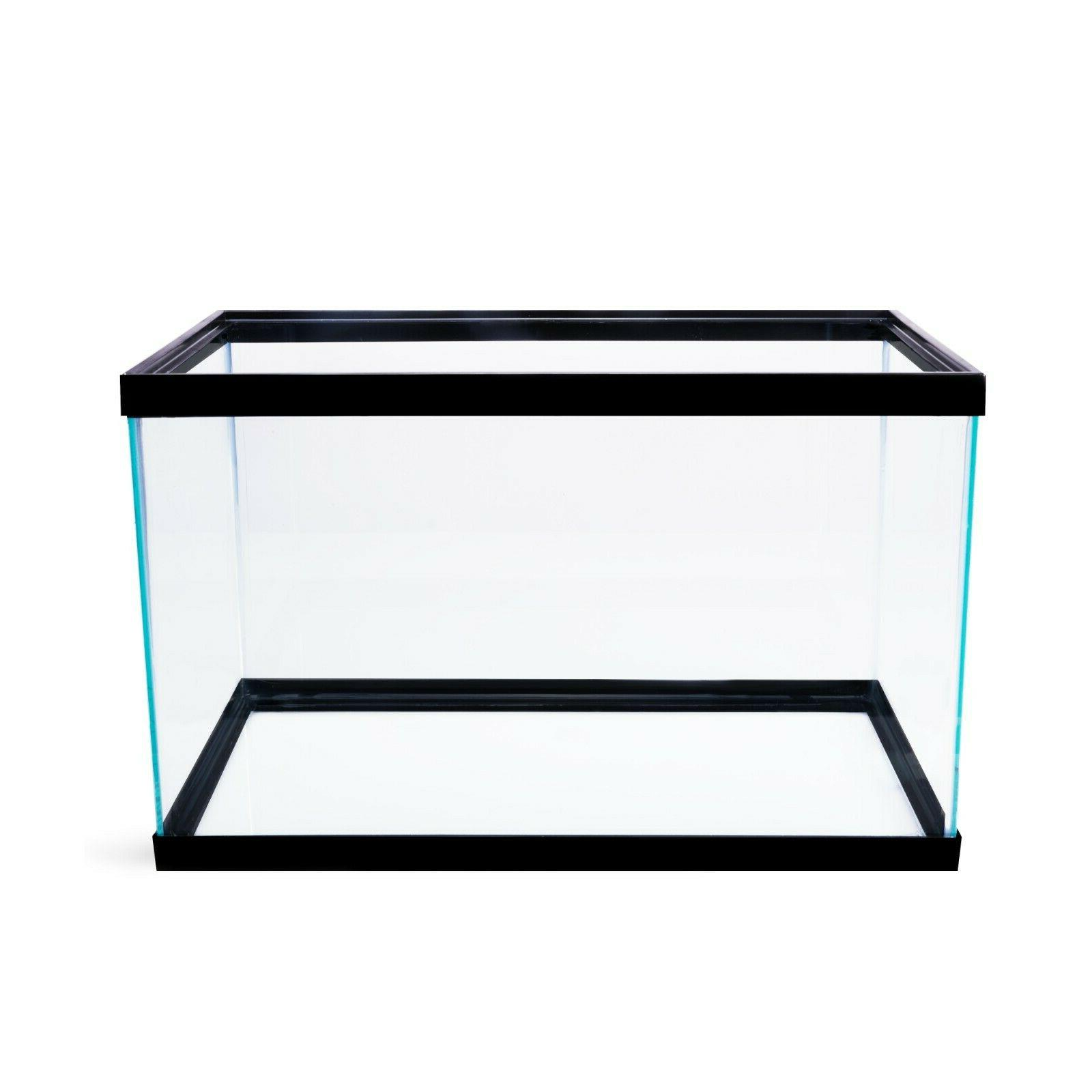 10 Gallon Aquarium Terrarium Pet Reptiles Fishes Home