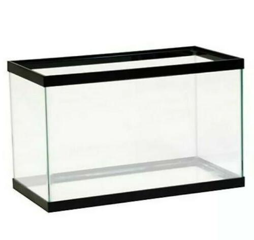 10 gallon fish tank aquarium clear glass