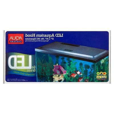10 LED Hood Culture Fish Tank Freshwater