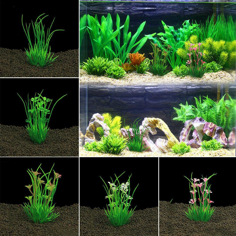 13cm Fish Plants Flower Plant Decorations