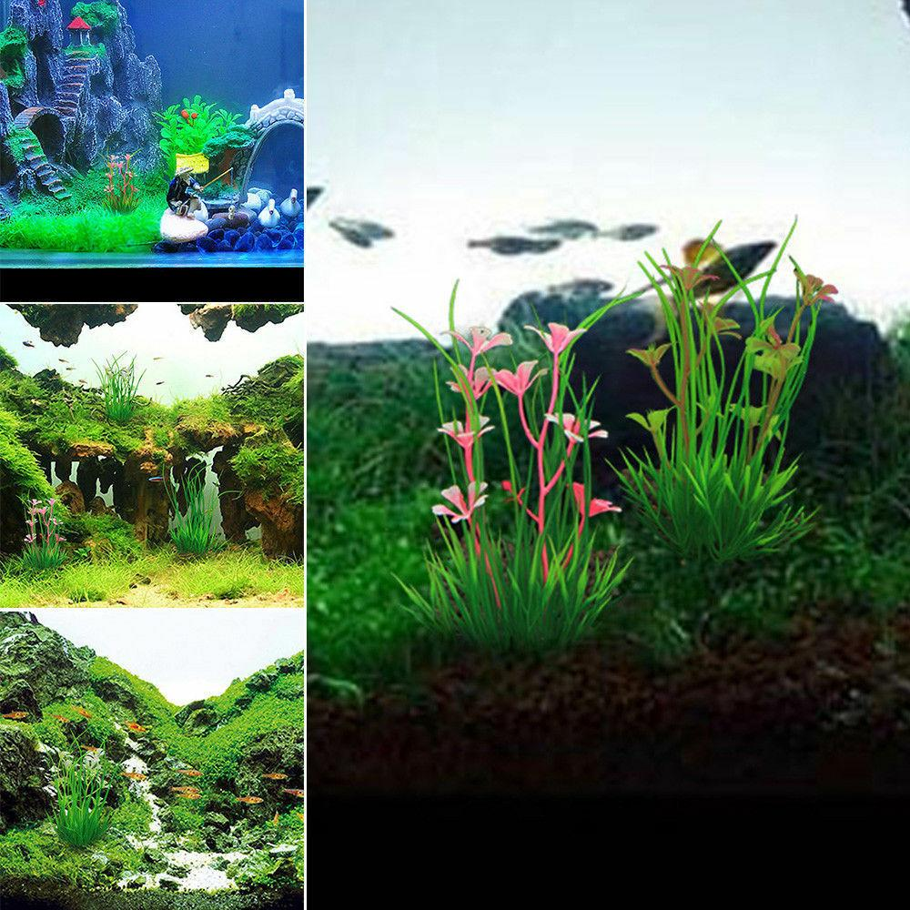 13cm Tank Plants Fake Flower Decorations