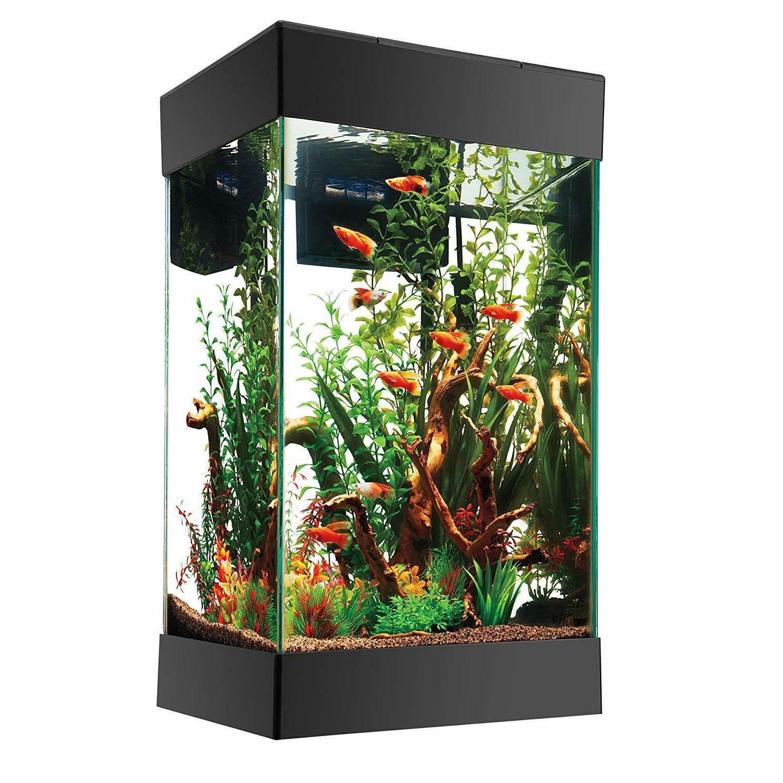15 gallon led aquarium kit