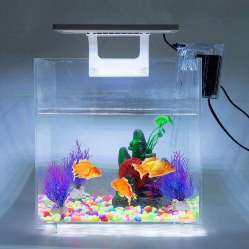Mini Acrylic Baby Fish Tank LED Light Breeding 15L
