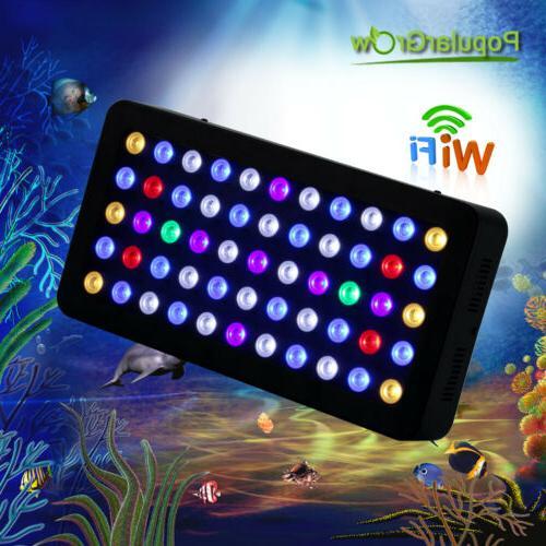 165W WIFI LED Aquarium Light Full Spectrum Updated Dimmable