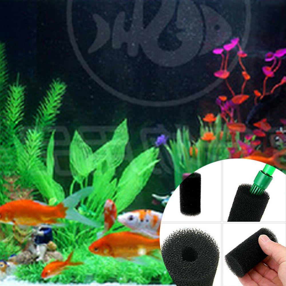 2/10Pcs Pre-Filter Bio Sponge Foam Fish Tank Filter Supplies