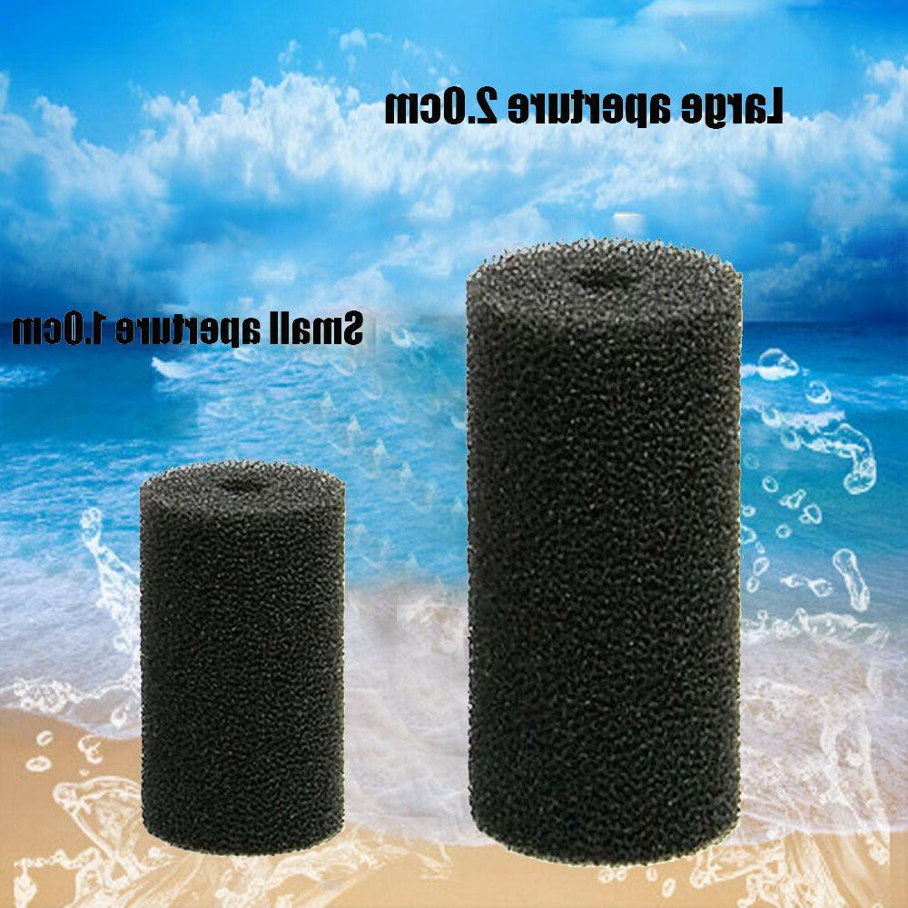 2/10Pcs Pre-Filter Bio Sponge Foam Mesh Aquarium Fish Tank F