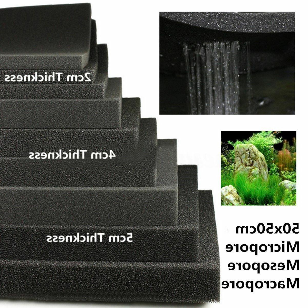 2 4 5cm 50x50 biological cotton filter