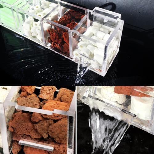 2-6 Grids Aquarium Fish Tank External Box Without Stock