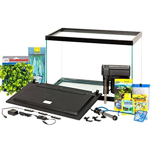 Tetra Aquarium Gallon Fish Tank Kit, LED Decor