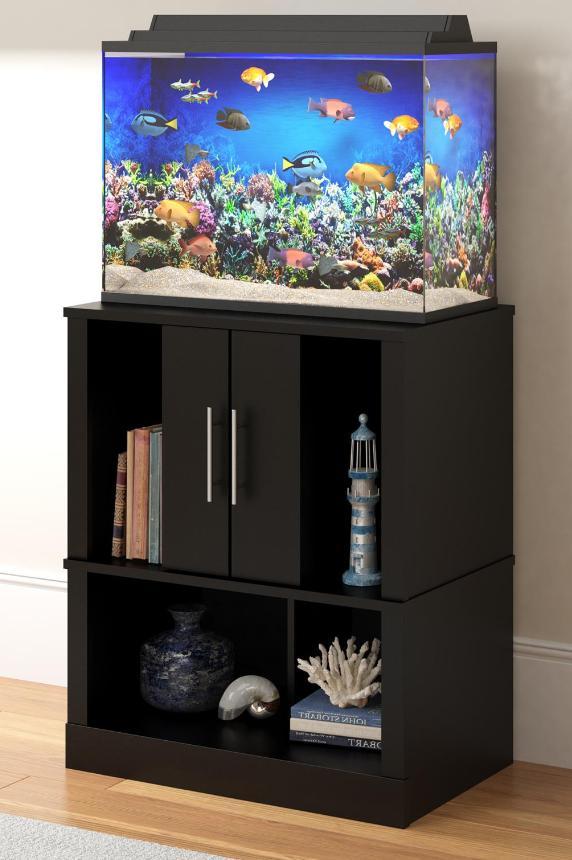 20 gallon aquarium fish tank stand storage