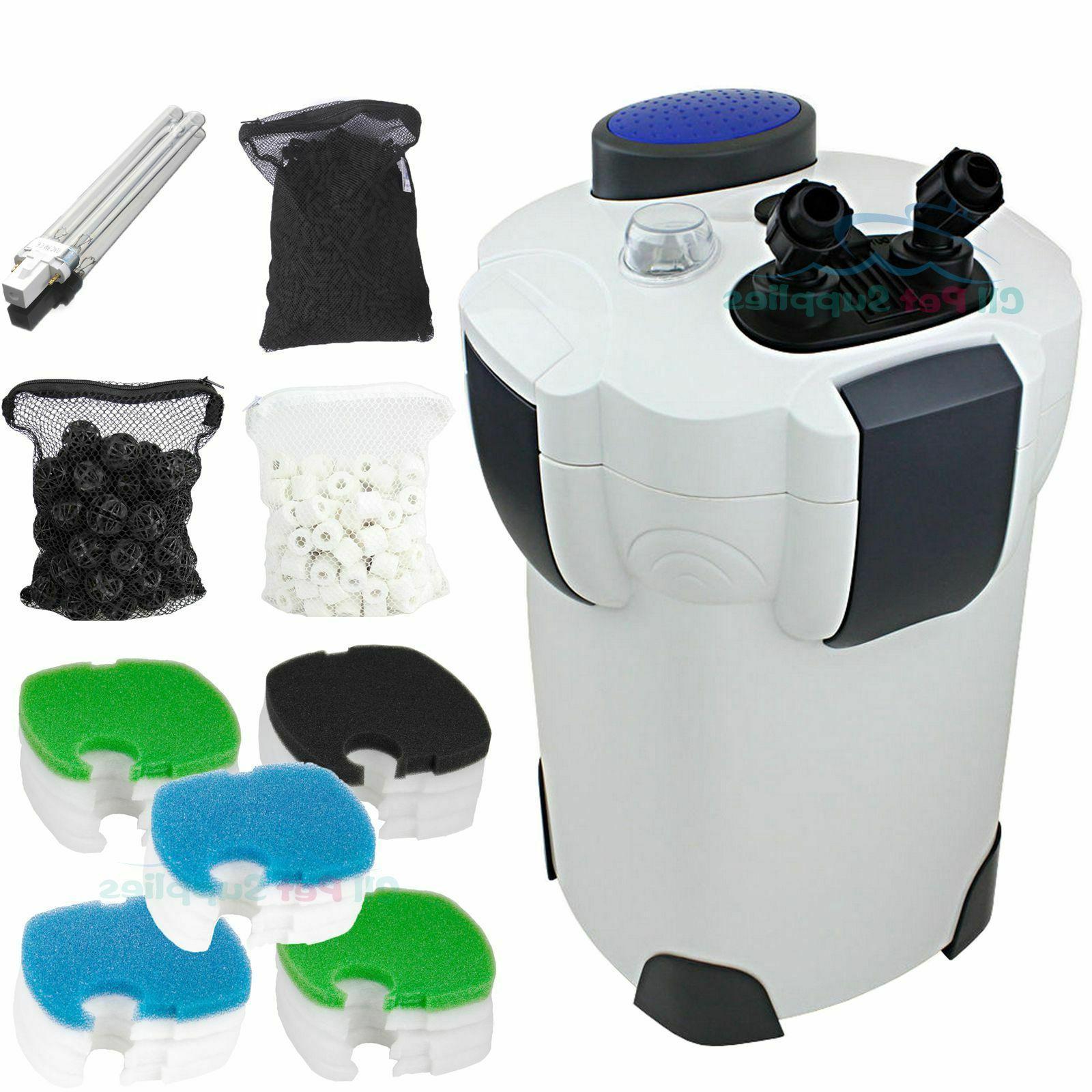 200 Gallon Filter UV Sterilizer Fish HW-304B