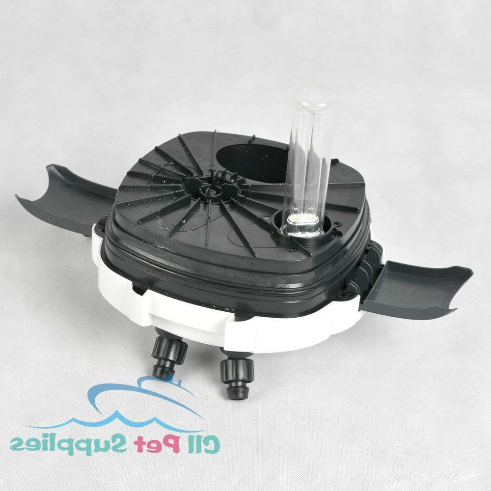 200 Aquarium Canister Filter Sterilizer Fish Tank HW-304B
