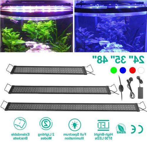 24 35 48 led aquarium light full