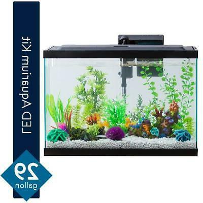 Aqua 29-Gallon Aquarium Starter Pet Fish
