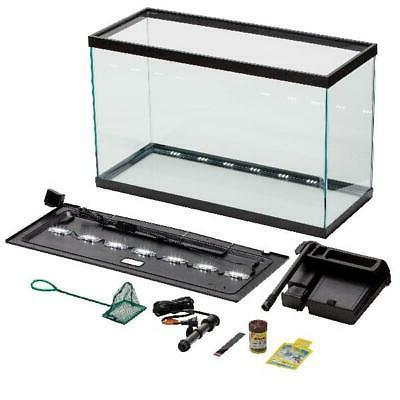 Aqua Culture 29-Gallon Aquarium Starter Kit LED, Pet Fish