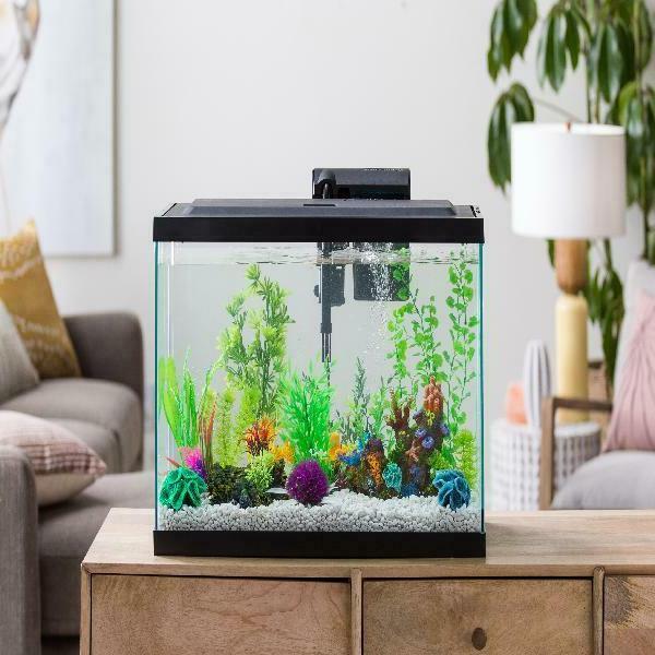 29-Gallon Fish Starter Tank Aqua Complete Kit Filter