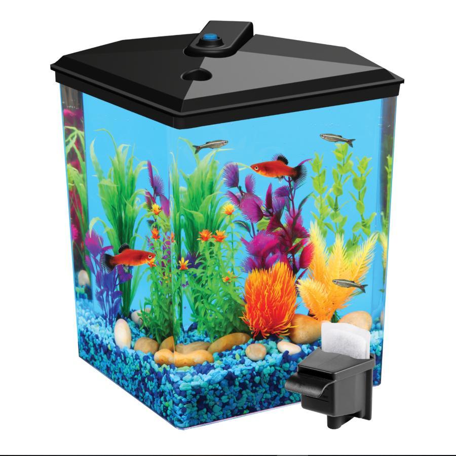 29-Gallon Pack Tank Aqua Kit Filter