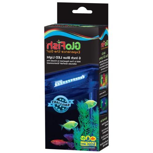 glofish blue light aquarium fish