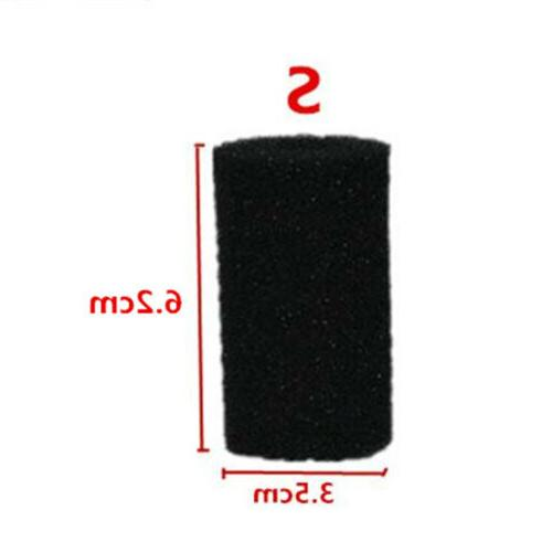 2/5/10Pcs Biochemical Pre-Filter Sponge Tank Black